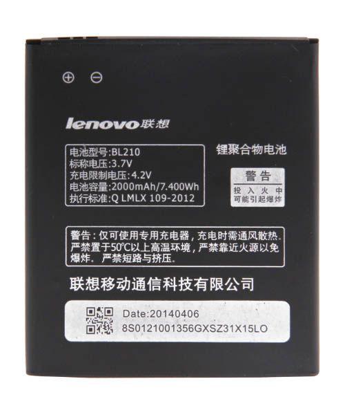 خرید باطری اصلی لنوو Lenovo BL210 S820 A656 A766