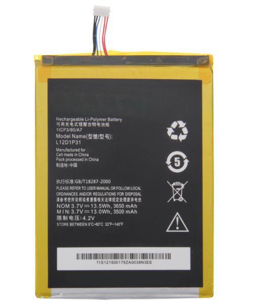 خرید باطری اصلی لنوو Lenovo A1000 A3000 A5000 L12D1P31