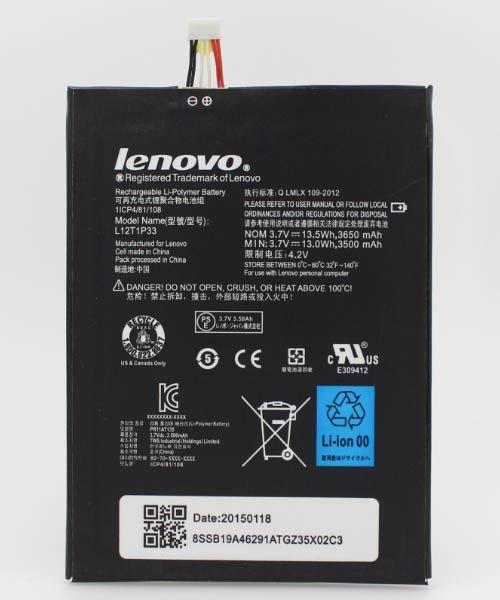 خرید باطری اصلی لنوو Lenovo A5000 A3300 L12T1P33
