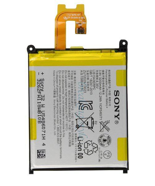 خرید باطری اصلی سونی SONY XPERIA Z2 D6502 D6503 LIS1542ERPC
