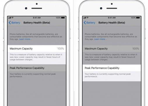 iOS 11.3 battery health - راهنمای تشخیص و خرید باطری اصلی موبایل