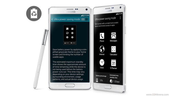 آزمایش عملکرد باتری سامسونگ Galaxy Note 4