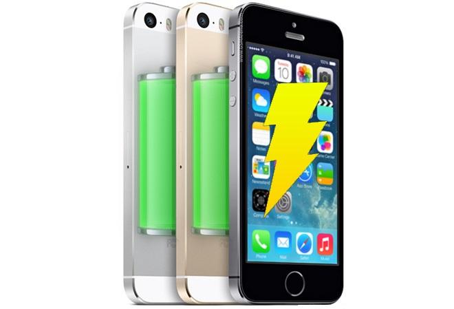تست و عملکرد باتری Apple iPhone 5s